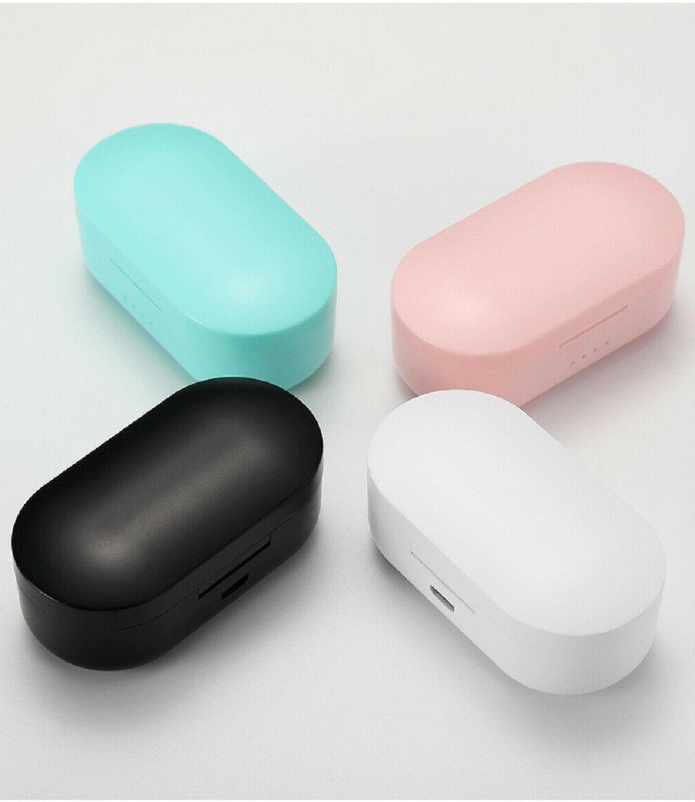 Earbuds wireless Bluetooth headphone waterproof headset noise canceling