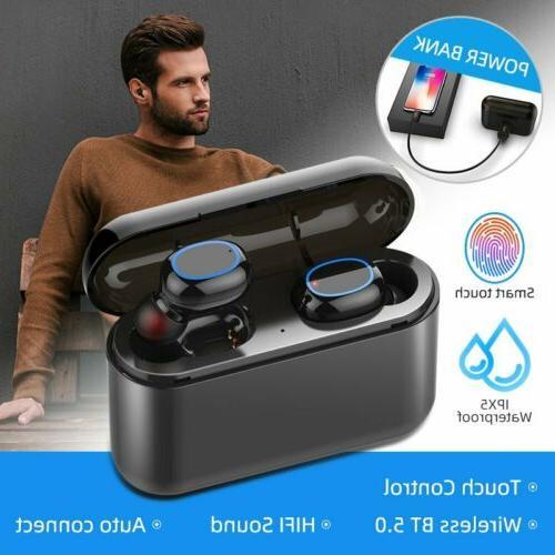 Mpow Wireless Earpiece Bluetooth 5.0 Earbuds TWS HiFi Stereo