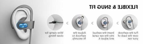 Mpow Earphones Bluetooth Headphone Headset Ear-hook