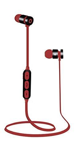 iPop Focus Bluetooth Headphones, Magnetic 4.2 Bluetooth Earb