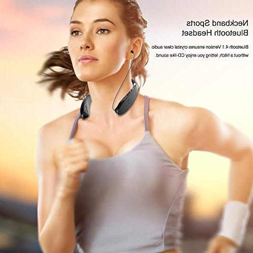 Foldable Bluetooth Lightweight Retractable Bluetooth for Sports&Exercise,
