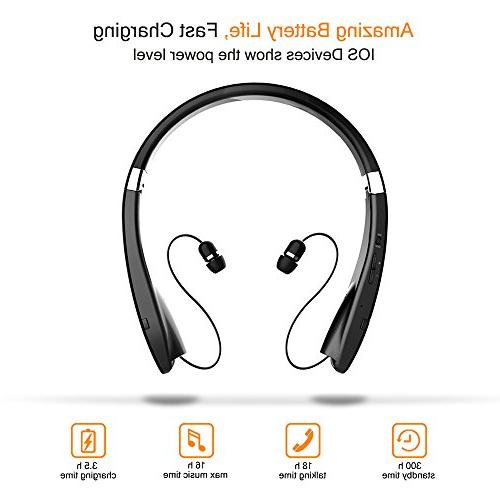 Foldable Bluetooth Lightweight Retractable Bluetooth for Stereo