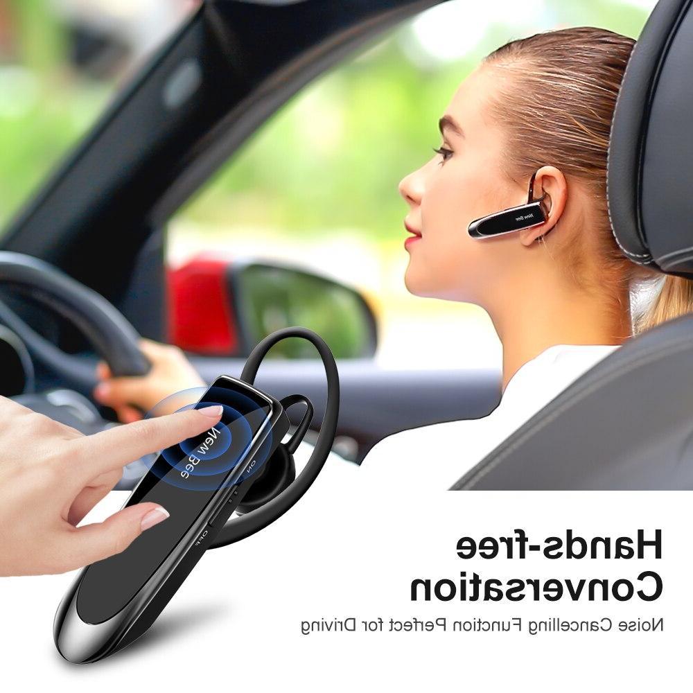 New Bee <font><b>Headset</b></font> <font><b>Bluetooth</b></font> 5.0 Headphone Wireless Earbud Earpiece For xiaomi