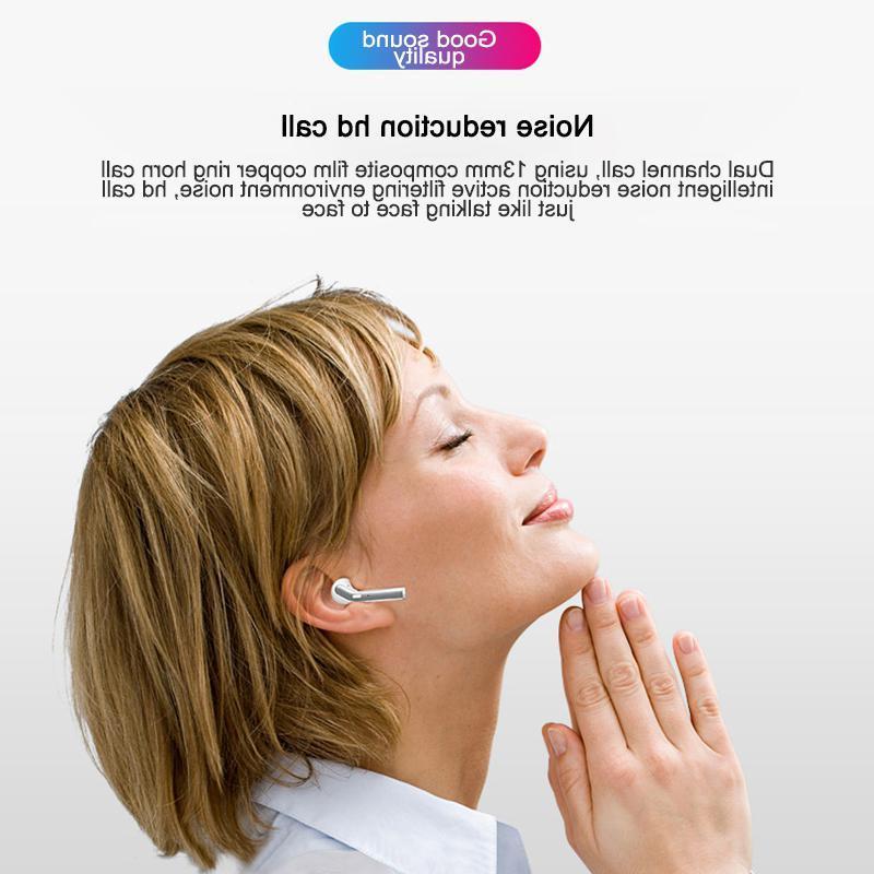 Ostart H17T <font><b>Earbuds</b></font> Headset 5.0 Hi-fi True Stereo with <font><b>Case</b></font>