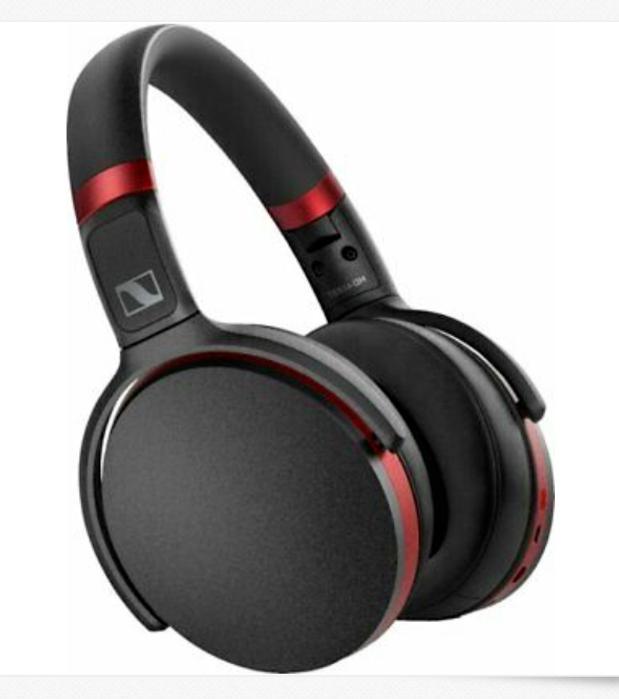 Sennheiser HD 458BT Wireless Noise Cancelling New