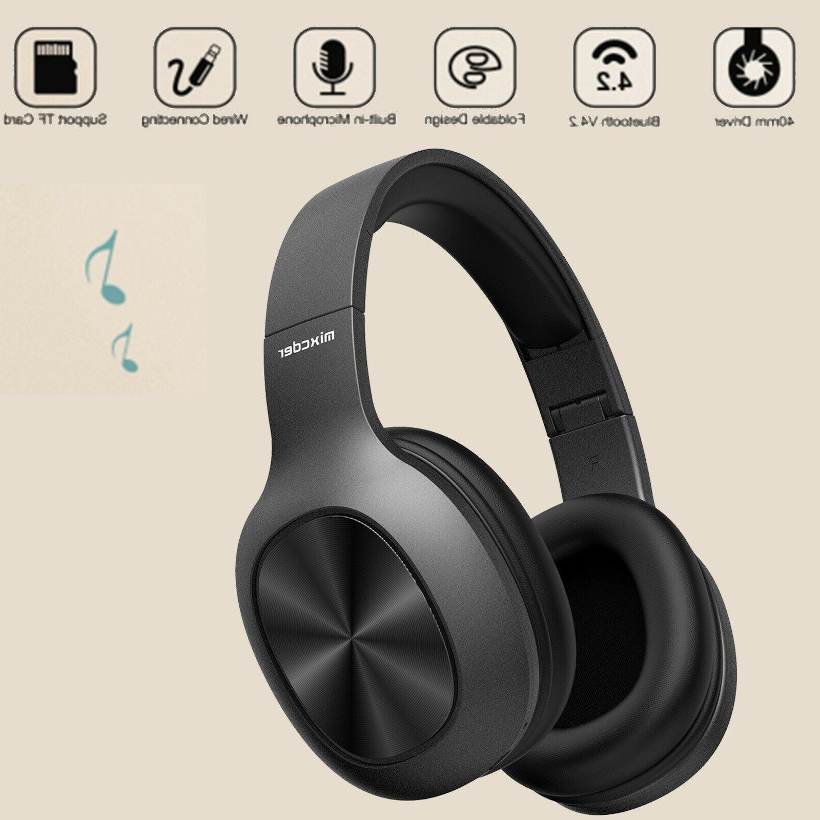 hd901 foldable bluetooth wireless headphones on ear