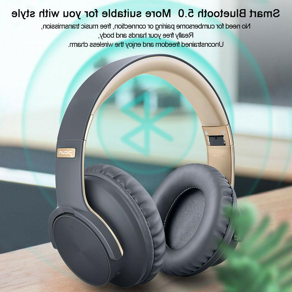 Heavy 5.0 Headphones Wireless 3D Sound Earphone