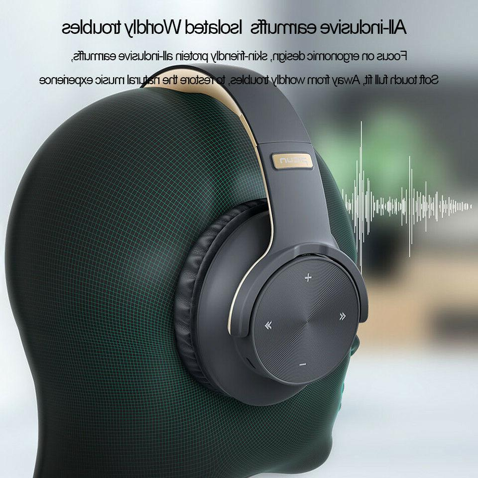 Heavy Bass Bluetooth 5.0 Headphones Wireless 3D Earphone