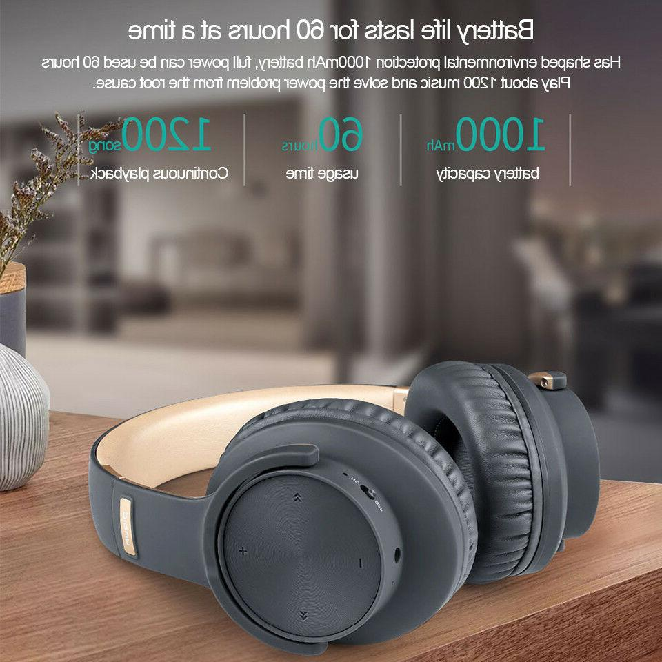 Heavy Bass Headphones Wireless 3D Sound