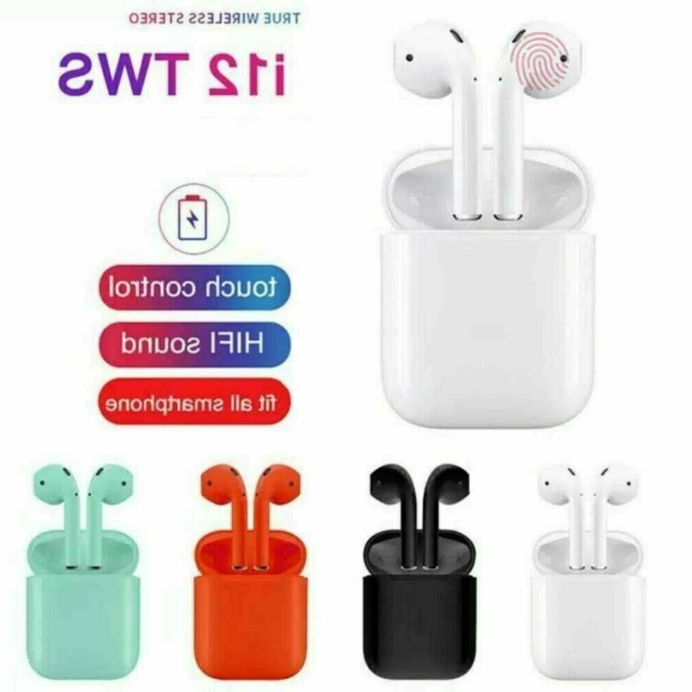 i12 Bluetooth Headphone Stereo Headsets Touch