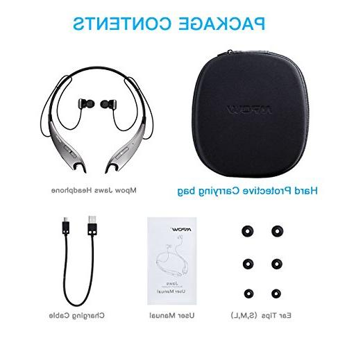 Mpow Jaws Headphones Headset V4.1, Alert, Cell