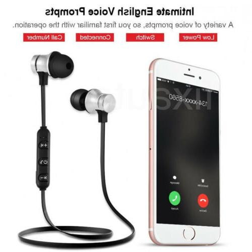 Magnetic Stereo Earphone Wireless Earbuds