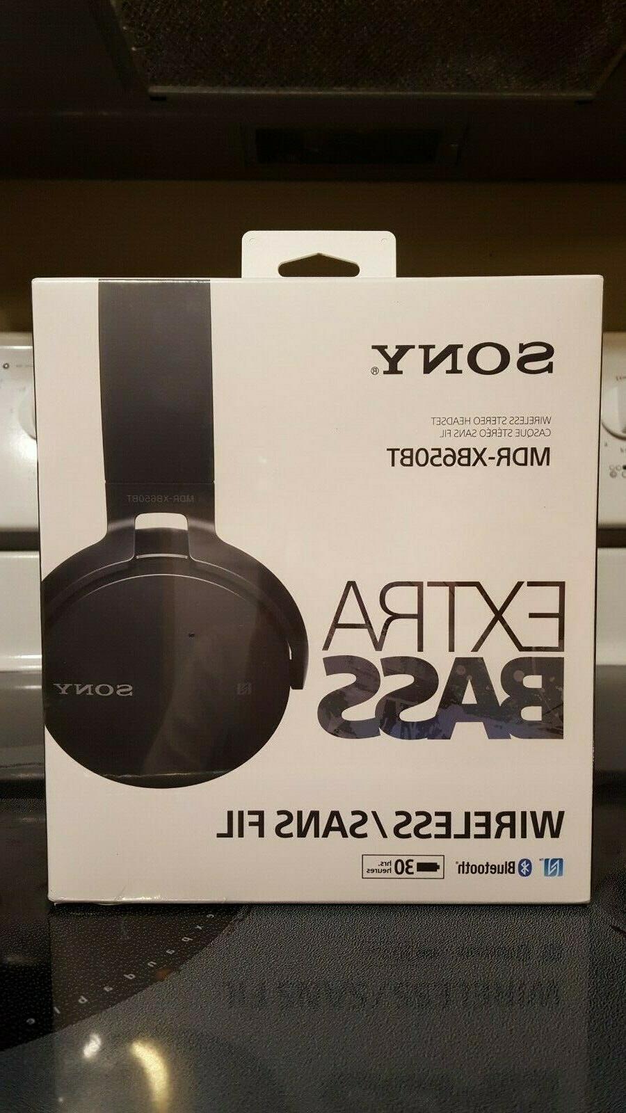 mdr xb650bt bluetooth black headband headsets brand