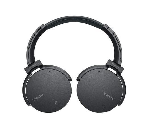 SONY EXTRA BASS Noise-Canceling Headphones - BLACK