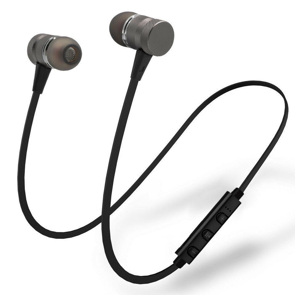 metal magnetic wireless bluetooth earphone sports headset