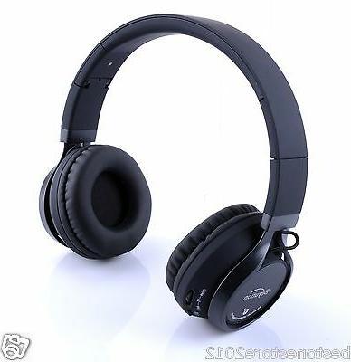 Metal New wireless Hi-Fi Stereo Bluetooth Headphones for Sma