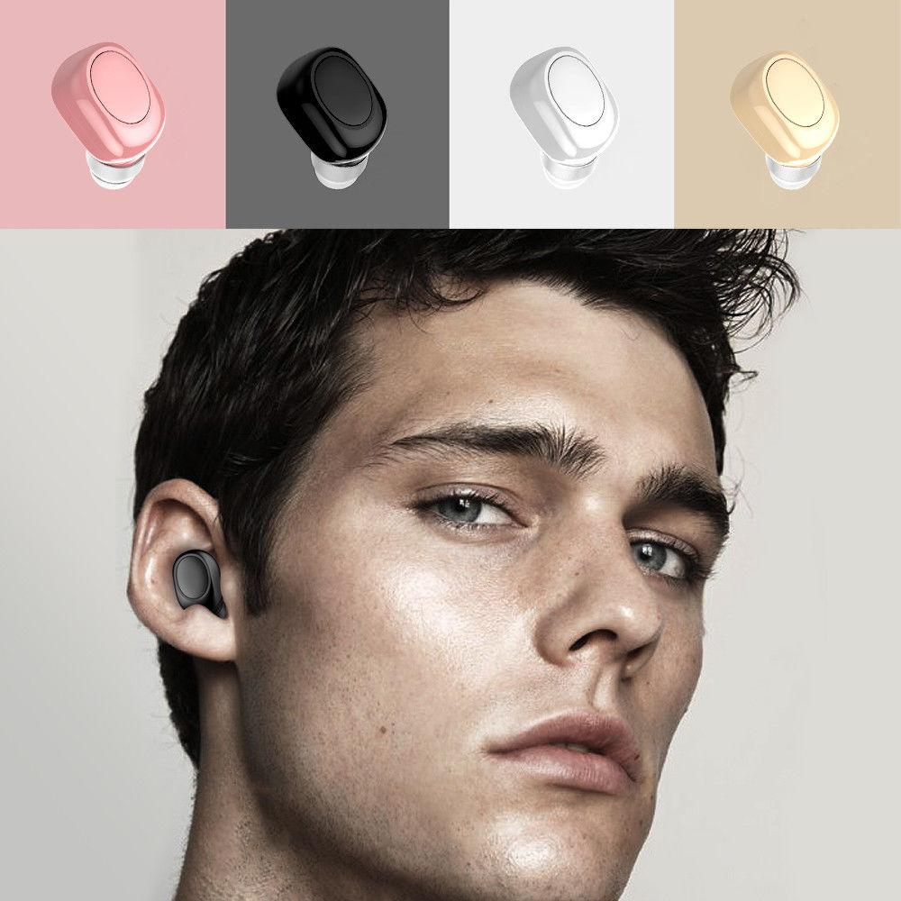 Mini Headset In-Ear Wireless Earbud Headphone