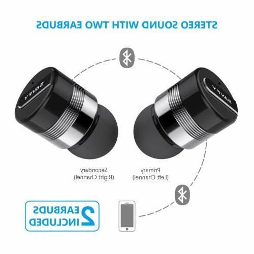 Mini True Twins Stereo In-Ear Headset - Gray