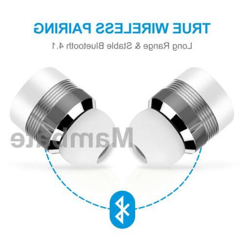 Mini Twins Bluetooth Earbuds Earphones Sport Headset