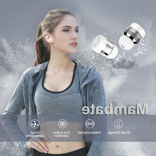 Mini Earphones Headset