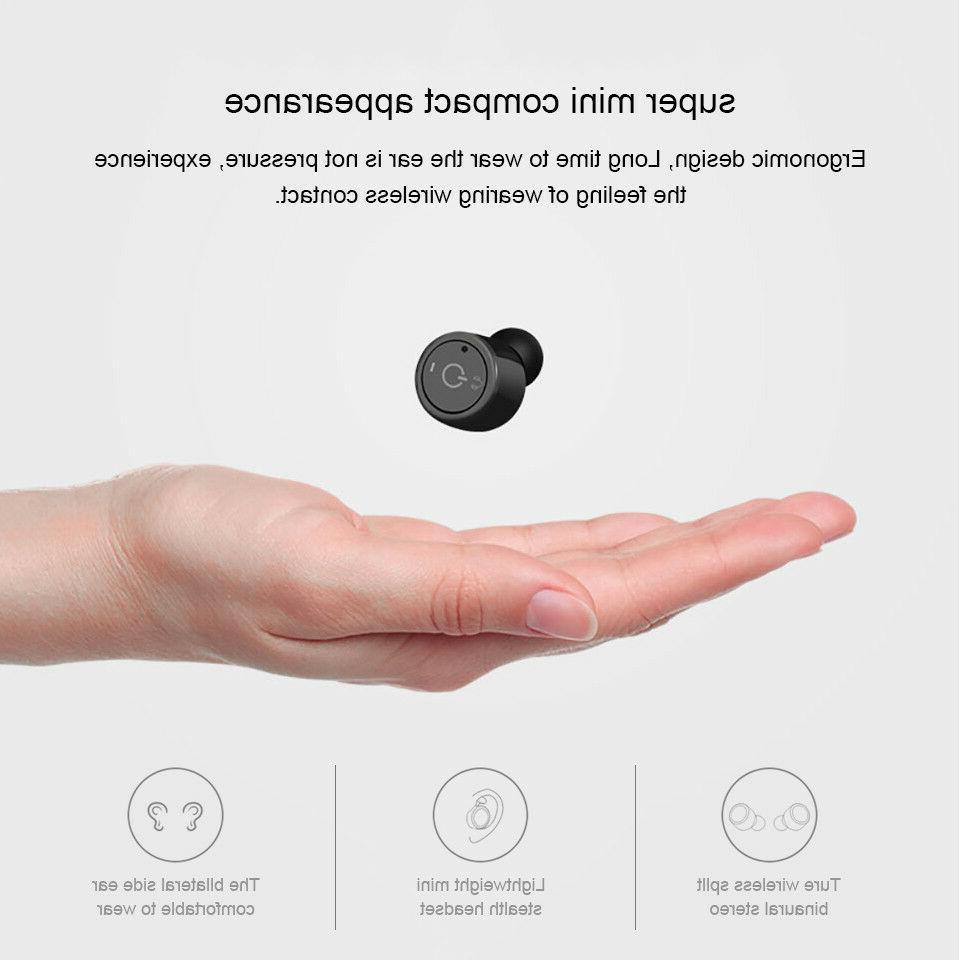 Mini Bluetooth Earbuds In-ear Earphone Headphone Headsets