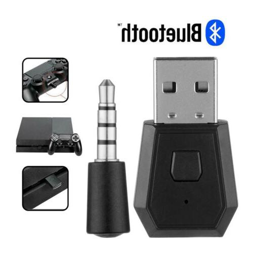Bluetooth Dongle Wireless Receiver USB Adapter for PS4 Wirel