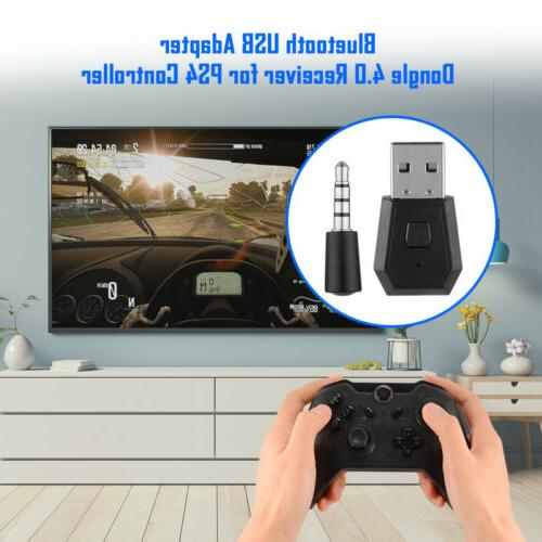 Mini Wireless Microphone Adapter for PS4 Controller Bluetooth