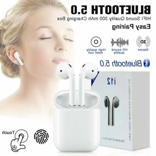 New Bluetooth 5.0 Touch Earphone