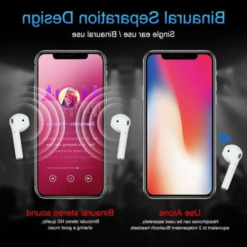 New Bluetooth 5.0 Headphone Touch Headsets Mic