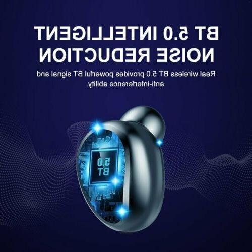 New Premium Wireless Headphones Earbuds with Charging