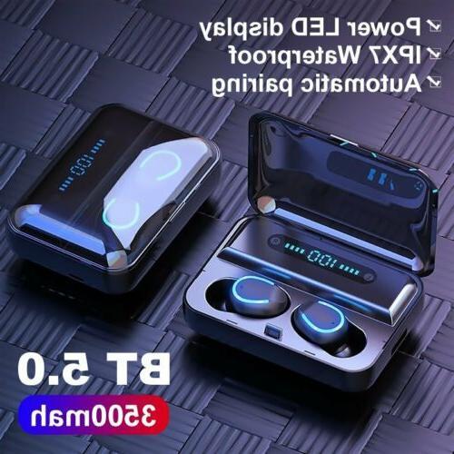 New Premium Headphones Bluetooth Earbuds