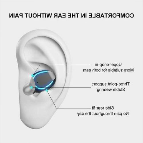 New Premium Headphones with Charging Case