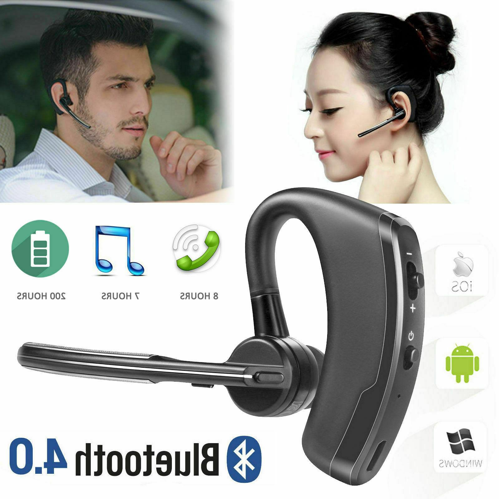 noise cancelling bluetooth headset for truck driver