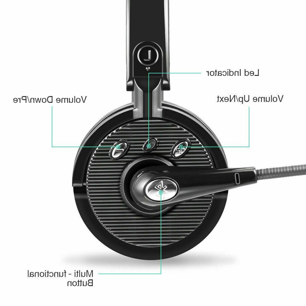 Noise Cancelling Headset Boom