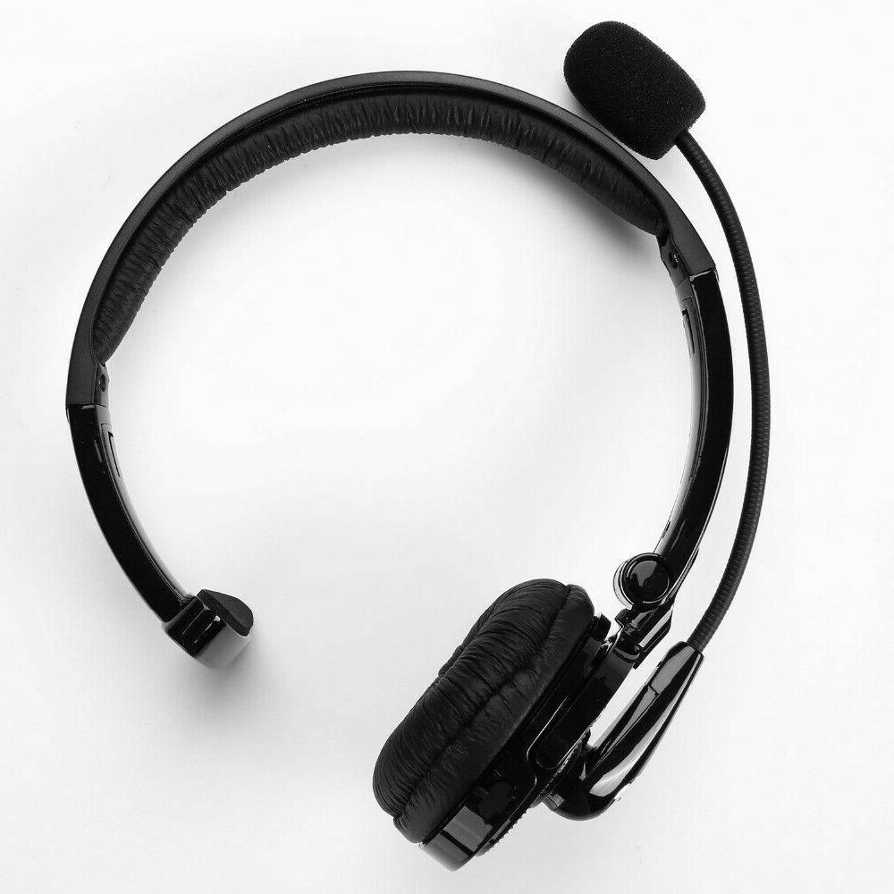 Noise Cancelling Wireless Headset Over Boom w/Mic Trucker