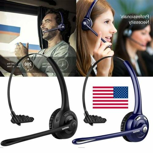 pro trucker bluetooth headset phone headset headphone