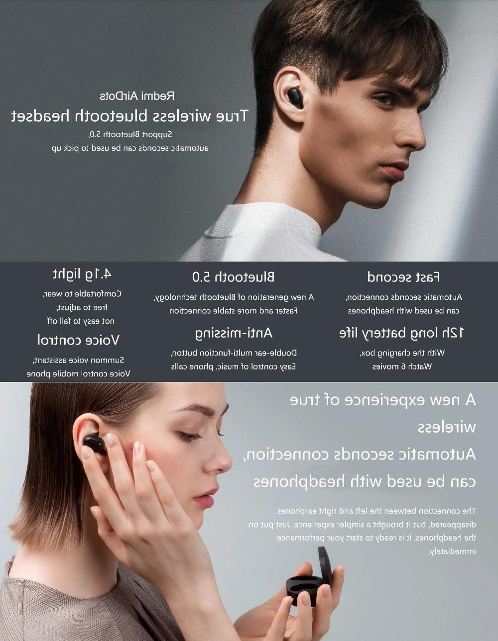 Xiaomi V5.0 Wireless Earbuds