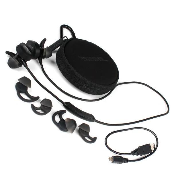 Bose wireless headphones sport earphone BLACK
