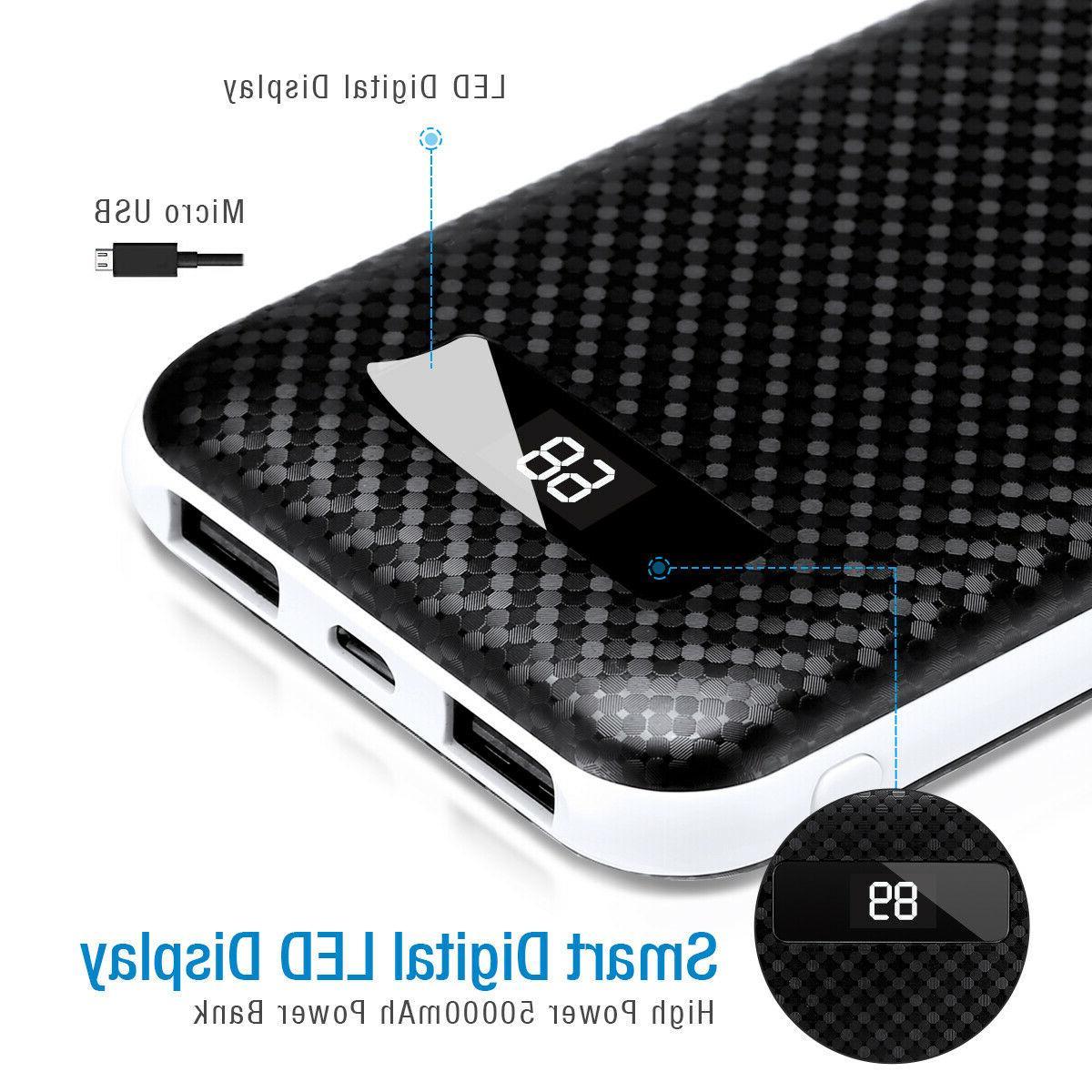 Bank USB Portable External Battery Phone