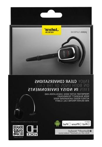 Jabra SUPREME Edition Bluetooth Headset Packaging -