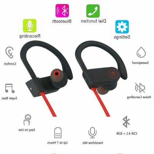 Mpow Sweatproof Bluetooth Wireless Sport Headphones