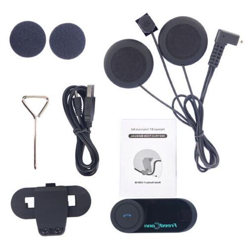 800m T-COMVB Intercom Headset Interphone
