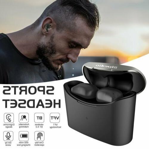 t elf headsets bluetooth 5 0 sports