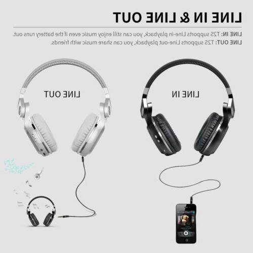 Bluedio T2S Headphones Headsets