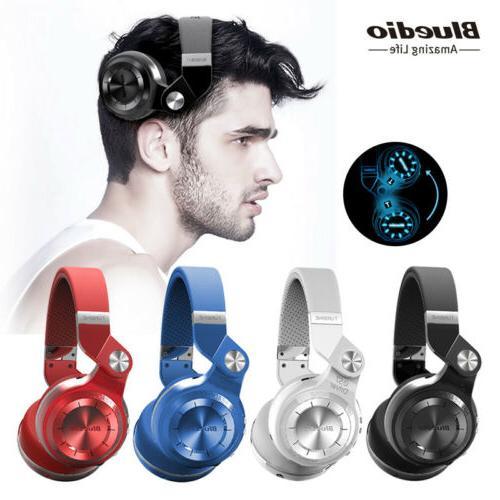 Bluedio Turbine Headphones Stereo Headsets