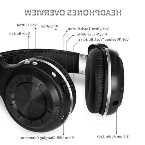 Bluedio Turbine Headphones Microphone Headsets