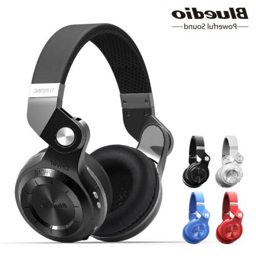 Bluedio T2S Turbine Headphones Microphone Headsets
