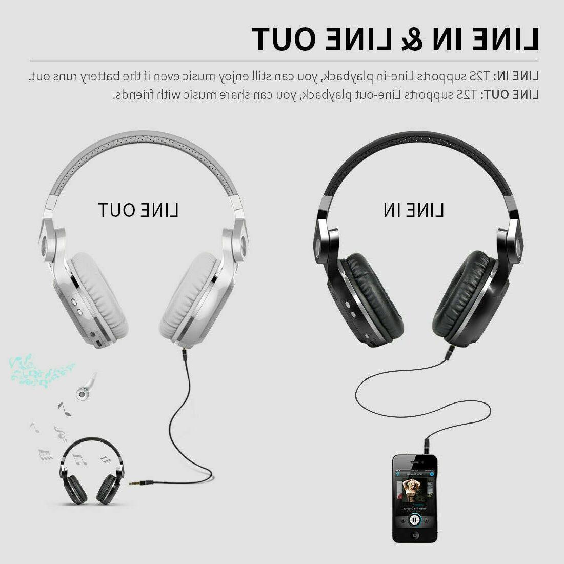 Bluedio T2S Bluetooth 5 Wireless