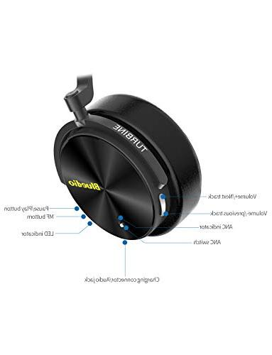 Bluedio Cancelling Wireless Bluetooth Headphones with Mic Portable Stereo Headsets for Cell Work