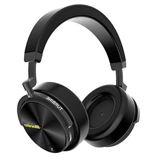 Bluedio Over Ear with Mic, Active Headphones 57mm Drivers for Work PC